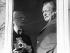 Andy Warhol (1928-1987), artiste et cinéaste américain, et Willy Brandt (1913-1992), homme politique allemand, 1976. © Sven Simon / Ullstein Bild / Roger-Viollet