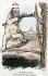 """""""Les prétendants et Loubet"""". Caricature sur Emile Loubet (1838-1929), homme d'Etat français. Carte postale humoristique, avant 1903 © Roger-Viollet"""