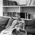 """Jean Seberg (1938-1979), actrice américaine, lors du tournage d'""""A bout de souffle"""", film de Jean-Luc Godard. France, septembre 1959. © Alain Adler / Roger-Viollet"""