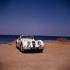 Cabriolet Jaguar XK 140.      © Roger-Viollet