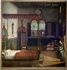 "Vittore Carpaccio (v.1465-v.1525). ""Le rêve de sainte Ursule"" (après restauration). Huile sur toile, 1495. Venise (Italie), Gallerie dell'Accademia. © Alinari/Roger-Viollet"