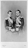Deux des fils du Tsar Alexandre II, vers 1860. A gauche : Nicolas (mort en 1865) et à droite : Alexandre, futur Alexandre III. © Roger-Viollet
