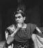 """Robert Hirsch dans """"Britannicus"""" de Jean Racine. Paris, Comédie-Française, janvier 1961. © Studio Lipnitzki/Roger-Viollet"""