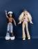 """""""Société Mattel : Poupée Tika, série Flavas et poupée Barbie, série My Scene, 2004"""". Galliera, musée de la Mode de la Ville de Paris.  © P. Ladet, C. Pignol / Galliera / Roger-Viollet"""