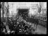 Guerre 1914-1918. Cérémonie anniversaire de la bataille de Champigny-sur-Marne (Val-de-Marne), le 1er décembre 1918. Mr et Mme Poincaré sont reçus à l'Hôtel de Ville. © Excelsior – L'Equipe/Roger-Viollet