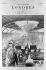 """Londres (Angleterre). """"Descente au métropolitain"""". Gravure de Tillet d'après Paul Renouard, octobre 1886. © Roger-Viollet"""
