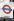 """Panneau indiquant la station de métro de """"Charing Cross"""". Londres (Angleterre). © TopFoto/Roger-Viollet"""