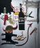 """Jean-Michel Basquiat (1960-1988). """"Sterno"""". Acrylique sur toile, 1985. Barcelone (Espagne), musée d'art contemporain. © Iberfoto / Roger-Viollet"""
