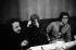 Yves Saint Laurent (1936-2008), couturier français lors d'une soirée organisée par Betty et François à la Coupole. Paris, 1971. © Jack Nisberg / Roger-Viollet