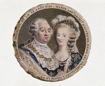 King Louis XVI of France, Marie-Antoinette, Archduchess of Austria, Queen of France. Paris, musée Carnavalet. © Musée Carnavalet/Roger-Viollet