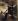 """Eugène Delacroix (1798-1863). """"Hamlet et Horatio au cimetière"""". Huile sur toile, 1839. Paris, musée du Louvre. © Roger-Viollet"""