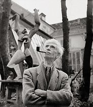 25/11/1967 (50 years ago) Death of Ossip Zadkine (1888-1967), Russian-born French sculptor © Imagno / Roger-Viollet