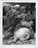 """Illustration pour """"Les aventures du dernier Abencérage"""" de François-René Chateaubriand. Dessin d'Achille Devéria, gravé par Touzé. © Roger-Viollet"""