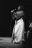 Festival de jazz de Nice, Ella Fitzgerald, chanteuse américaine. Nice, 1972. © Gérard Amsellem/Roger-Viollet