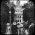 Exposition universelle de 1900, Paris. La passerelle et le Pavillon de la Roumanie. © Léon et Lévy/Roger-Viollet
