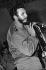 Fidel Castro (1926-2016), homme d'Etat et révolutionnaire cubain. Cuba, dans les années 1960. © Gilberto Ante/BFC/Gilberto Ante/Roger-Viollet