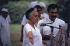 Indira Gandhi (1917-1984), femme politique indienne, accueillant une délégation de sikhs dans sa maison de Delhi. Vers 1984. © Ullstein Bild/Roger-Viollet
