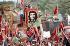 30ème anniversaire de la Révolution cubaine. Défilé du 1er mai. Portrait de Che Guevara (Ernesto Rafael Guevara, 1928-1967), révolutionnaire cubain d'origine argentine. La Havane (Cuba), 1988. © Françoise Demulder / Roger-Viollet