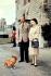 La reine Elisabeth II (née en 1926) et son époux, le duc Philip d'Edimbourg (né en 1926). Windsor (Angleterre), 1er janvier 1959. © PA Archive / Roger-Viollet