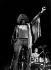 Roger Daltrey (né en 1944), chanteur anglais, leader du groupe The Who. Festival de Woodstock (New York), 1969.  © Jason Laure/The Image Works/Roger-Viollet
