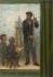 """Eugène Valton (1836-1910). """"L'enseignement du dessin"""". Esquisse pour l'école de la rue Dombasle. Paris (XVème arr.). Huile sur toile, 1880. Musée des Beaux-Arts de la Ville de Paris, Petit Palais. © Petit Palais/Roger-Viollet"""