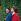 Liliane Bettencourt (héritière de L'Oréal, 1922-2017) et sa fille Françoise Bettencourt (née en 1953), le jour de son mariage avec Jean-Pierre Meyers (ne en 1939). Neuilly-sur-Seine (Hauts-de-Seine), juin 1984. © Kathleen Blumenfeld/Roger-Viollet
