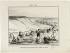 """Honoré Daumier (1808-1879).""""Croquis d'été - Vue de la Seine, prise non loin d'Asnières, pendant la canicule (pl.2)"""". Lithographie en noir. Paris, musée Carnavalet.  © Musée Carnavalet/Roger-Viollet"""