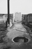 Site bombardé pendant la guerre de 1939-1945 à la City. Londres (Angleterre), 1958. © Jean Mounicq/Roger-Viollet