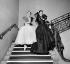 """Costumes d'Hubert de Givenchy pour """"De fil en étoile"""". Paris, théâtre de l'Empire, juin 1954. © Boris Lipnitzki / Roger-Viollet"""