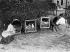 Guerre 1914-1918. Les lycéennes à la campagne. © Maurice-Louis Branger/Roger-Viollet