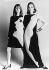 Robes créées par Yves Saint Laurent à partir d'oeuvres pop art d'Andy Warhol, 18 août 1966. © TopFoto / Roger-Viollet