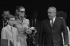 La princesse Grace de Monaco, Rainier III et leur fils Albert, lors du Grand Prix de Monaco. Monte Carlo (Principauté de Monaco), 18 mai 1969.  © Sven Simon / Ullstein Bild / Roger-Viollet