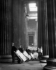 Retour au British Museum de célèbres manuscrits entreposés au château de Skipton pendant la Seconde Guerre mondiale. Londres (Angleterre), 30 janvier 1946. © PA Archive/Roger-Viollet
