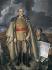 """José Aguiar García (1895-1976). """"Portrait de Francisco Franco (1892-1975), général et homme d'Etat espagnol"""". Huile sur toile. © Iberfoto / Roger-Viollet"""