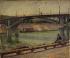 Suzanne Camille Désirée Frémont (born Lambert 1876-1962). View of the Passy footbridge. Paris (XVth and XVIth arrondissements). Oil on canvas, 1902. Paris, musée Carnavalet. © Musée Carnavalet / Roger-Viollet