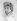 """Eugène Delacroix (1798-1863). """"Autoportrait"""". Fusain, vers 1832. Collection Degas. © Albert Harlingue / Roger-Viollet"""