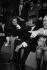 Sheila, Jacques Dutronc, Claude François et à droite Sophie Daumier, artistes français, dans les studios de RTL pendant une émission animée par Philippe Bouvard et Anne-Marie Peysson. 1968. © Noa / Roger-Viollet