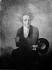 """Hilaire Le Dru (1769-1840). """"François-René de Chateaubriand (1768-1848), écrivain et homme politique français"""", vers 1820. Ecole Française. Collection particulière. © Roger-Viollet"""
