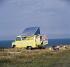 Camping dans les années 1960-1970. © Roger-Viollet