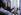 Bill Clinton (né en 1946), président des Etats-Unis, visitant l'ancienne cellule de Nelson Mandela (1918-2013), président de la République d'Afrique du Sud. Prison de Robben Island (Afrique du Sud), 27 mars 1998. Photo : Juhan Kuus. © The Image Works / Roger-Viollet