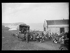 """Guerre d'Espagne (1936-1939). """"La Retirada"""". Arrivée de réfugiés espagnols au camp de Mauresque (Pyrénées-Orientales), février 1939. Photographie Excelsior. © Excelsior - L'Equipe / Roger-Viollet"""
