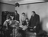 Institut national pour les aveugles, Great Portland Street. Londres (Angleterre), 5 janvier 1917. © TopFoto/Roger-Viollet