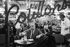 """""""Cotillons"""". Réveillon du jour de l'an à Pigalle. Paris (IXème arr.), années 1970. © Jean-Pierre Couderc/Roger-Viollet"""