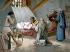 Christophe Colomb (1451-1506), navigateur génois, meurt dans une pauvre pension à Valladolid (Espagne). 20 mai 1506. Lithographie du XIXème siècle. © Ullstein Bild / Roger-Viollet
