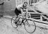 Lucien Petit-Breton (1882-1917), coureur cycliste français, 1906. © Maurice-Louis Branger/Roger-Viollet
