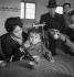 Guerre d'Espagne (1936-1939). Réfugiés civils en France, février 1939. © Gaston Paris / Roger-Viollet