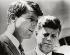 John Fitzgerald Kennedy (1917-1963) et Robert (1925-1968) Kennedy, hommes politiques américains. 1963. © Imagno / Roger-Viollet