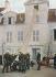 Manoeuvres de pompiers, vers 1890-1900. © Roger-Viollet