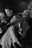 Sidney Bechet (1897-1959), musicien de jazz américian, en concert aux Arènes de Lutèce. Paris (Vème arr.), 1953. Photographie de Jean Marquis (né en 1926). © Jean Marquis/Roger-Viollet