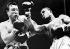 Combat en douze rounds entre George Chuvalo (né en 1937) boxeur canadien d'origine croate, et Joe Frazier (1944-2011), boxeur américain. New York (Etats-Unis), Madison Square Garden, 20 juillet 1967. © TopFoto / Roger-Viollet